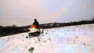 10. Playing on the tundra 550f