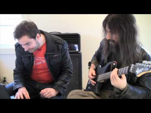 Bumblefoot doing TonePrints for TC Electronic's Flashback Delay