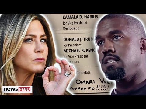 Jennifer Aniston SLAMS Kanye West's Presidential Run & He Responds!