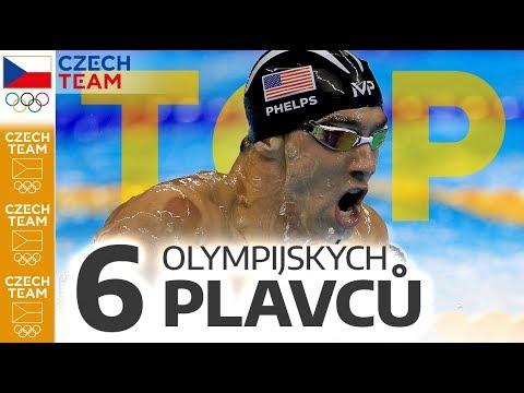 TOP: 6 nejúspěšnějších plavců