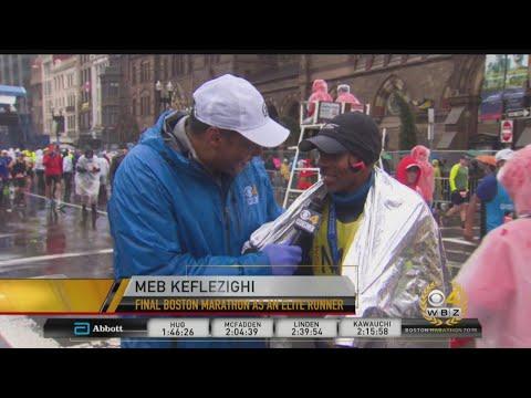Meb Keflezighi Completes Boston Marathon For Team MR8