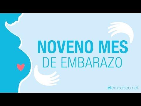 Noveno mes de embarazo | 9 meses de embarazo | El embarazo mes a mes