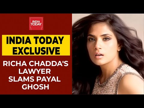 Richa Chadda's Lawyer Speaks Over Payal Ghosh's Allegations | Anurag Kashyap's #MeToo Case