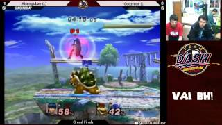 [VAI BH!] Project M 3.6 – Grand Finals Aisengobay (Marth/Falco) vs Godzrage (Samus/Bowser)