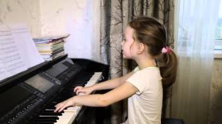 Синий иней. Виктория 6 лет. Дети поют.