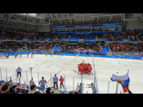 Олимпийские игры 2018: Россия - Германия 4:3 Овертайм победный гол - DomaVideo.Ru