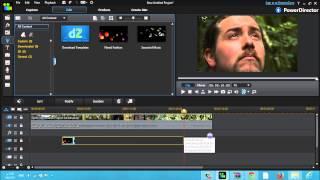 شرح إستخدام التأثيرات على الفيديو برنامج CyberLink PowerDirector R12