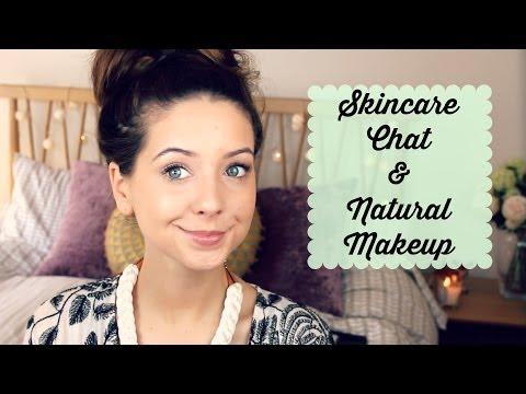 Skincare Chat & Natural Makeup Look | Zoella