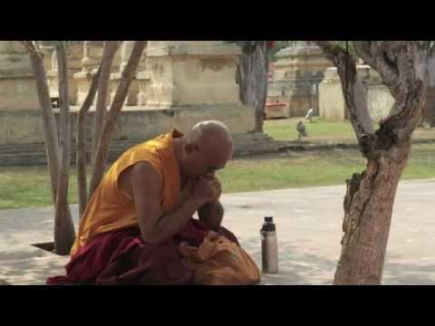 Bodh Gaya India the Temple Ground