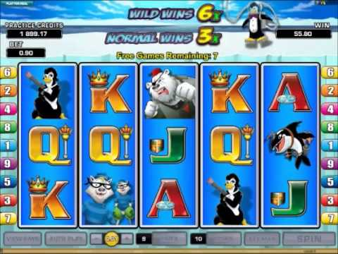 Arctic Agents Slots 15 Free Spins at 3x Multiplier