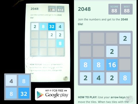 Video of 2048 (Ad free, no ads)