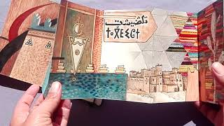 MAROC TRAVEL SKETCH BOOK VIDEO