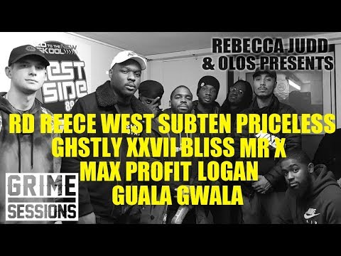 GRIME SESSIONS | REECE WEST, RD, MR X, SUBTEN, LOGAN, BLISS, GHSTLY, MAX PROFIT, GUALA @kirbyt_dj