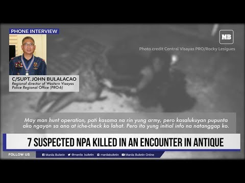 Govt Troops Kill Seven NPA Rebels In Antique