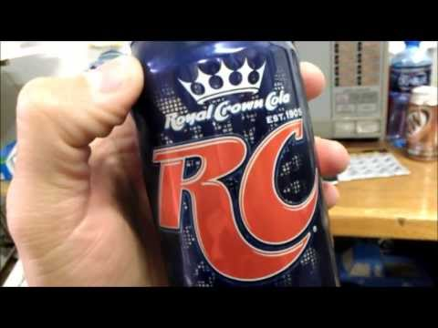 RC Cola - Mayor Drinks a soda :3))