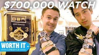 Video $285 Watch Vs. $700,000 Watch MP3, 3GP, MP4, WEBM, AVI, FLV Agustus 2018
