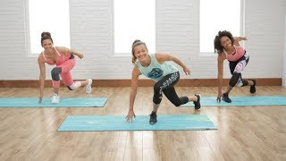 Torch calories and get ready to sweat with this low-impact cardio workout. POPSUGAR Fitness offers fresh fitness tutorials, workouts, and exercises that will help you on your road to healthy living, weight loss, and stress relief.  Check out Class FitSugar, our do-it-along-with-us real-time workout show hosted by Anna Renderer who will inspire you to sweat alongside fitness experts and Hollywood's hottest celebrity trainers. Class FitSugar regularly covers the most buzzed-about workout classes and trends, including the Victoria's Secret workout, Tabata, P90X, Bar Method, and more.Subscribe to POPSUGAR Fitness!http://www.youtube.com/subscription_center?add_user=popsugartvfitCheck out the rest of our channel:https://www.youtube.com/user/popsugartvfit