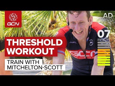 Train With Mitchelton-Scott | Improve Your Threshold Power