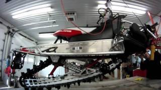 6. Unboxing Pro RMK 800 2012 deep snow snowmobile