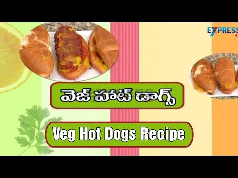 Veg Hot Dogs Recipe | Yummy Healthy Kitchen Kids' Spl | Express TV