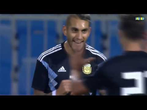 Roberto Pereyra goal | Argentina vs Iraq 4-0   All Goals & Highlights 2018 HD