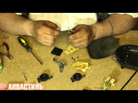 Ремонт компрессора для аквариума