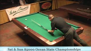 Jason Shaw Mike Dechaine 25th Annual Ocean State 9 Ball Finals