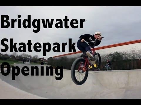 Bridgwater skatepark opening