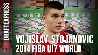 2014 Vojislav Stojanovic Interview - DraftExpress - FIBA U17 World Championships