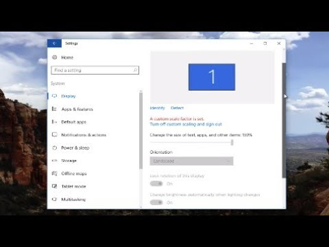 Windows 10 Not Fitting On Screen | How To Fix