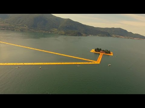 The Floating Piers By Christo And JeanneClaude