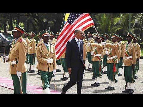 Αιθιοπία: Περιφερειακή ασφάλεια και ανθρώπινα δικαιώματα στην ατζέντα Ομπάμα