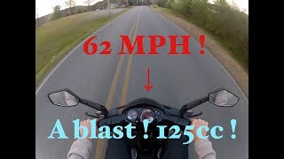 4. 2012 piaggio typhoon 125 cruising review 0-60