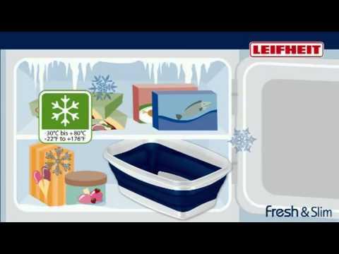 Leifheit Fresh Slim - Die faltbare Frischhaltedose