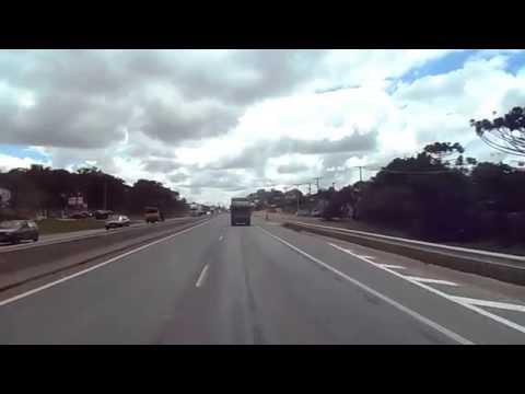 Fazenda Curitiba carro 15L15 do Terminal Fazenda Rio Grande até o Pinheirinho garagem Pluma