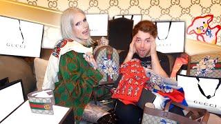 Surprising Shane Dawson w. $15,000 Gucci Makeover