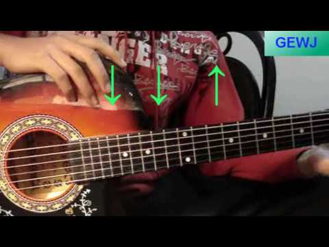 Clase de Guitarra - Los Ritmos - Super Facil - HD