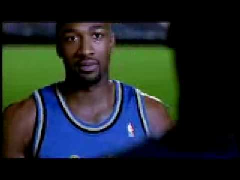 Spalding Ad (with Gilbert Arenas)