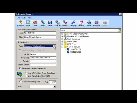 Dameware Mini Remote Control Demo