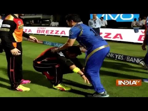 Why Yuvraj Singh Touches Feet of Sachin Tendulkar in IPL 2016   Cricket Ki Baat