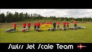 Swiss Jet Scale Team 2nd place in national trophy Was für unser Team zaghaft begonnen hat, wurde schliesslich ein toller Erfolg.