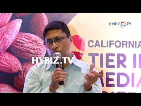 , Hyderabad Enjoys with California Almonds