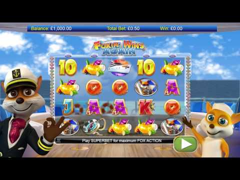 Foxin' Wins Again Slots now On Jackpot Mobile casino