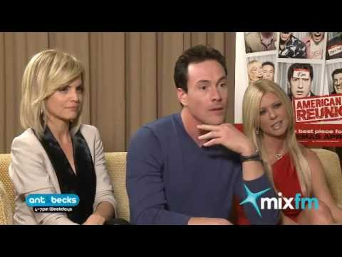 mena subari - Tara Reid, Mena Suvari and Chris Klein from American Pie caught up with Ant & Becks from MixFM, Sydney. http://www.mix1065.com.au http://www.mix1011.com.au.
