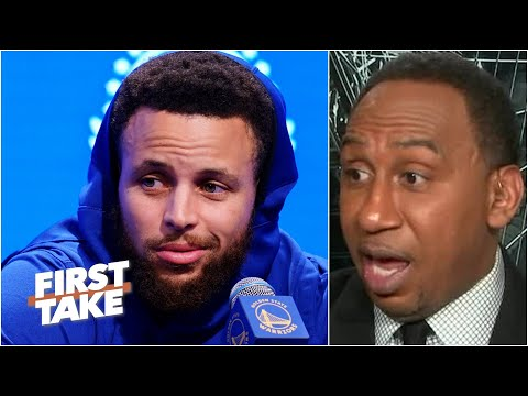 Stephen A. isn't sleeping on Stephen Curry & the Warriors without Klay Thompson | First Take