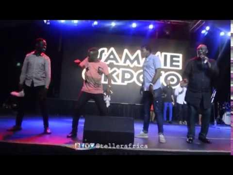 Sammie Okposo Stage Performance @ Akpororo vs Akpororo