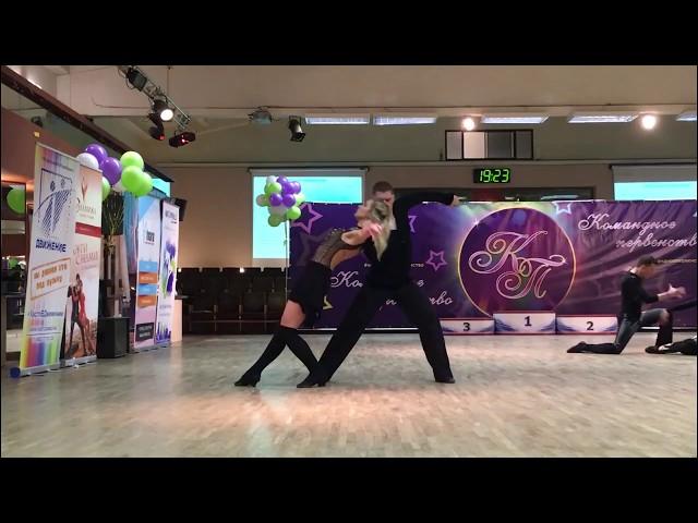 Командное Первенство 2017, B-класс, Андрей Чайка — Надежда Бычкова, slow
