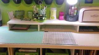 Hope you enjoy the video of my Crafty Space it is long overdue. To see what it looked like before, click on the link below. Thanks for watching. Traci https://youtu.be/szcgWLc63Z4