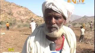 Eritrean Inhabitants of Libena Administrative area engage in soil and water conservation