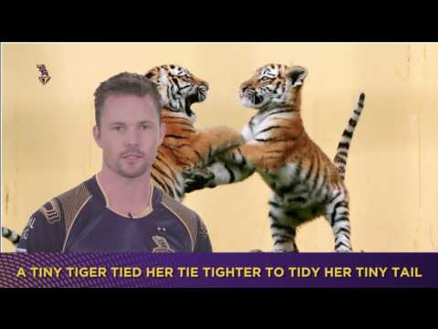 Toungue Twister | Team KKR |  Knights Silly Point | Inside KKR
